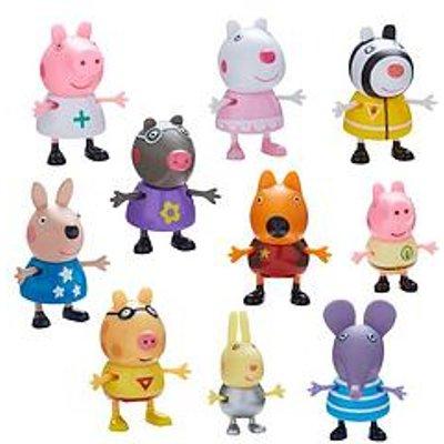 Peppa Pig Dress Up Figurines - 10 Pack