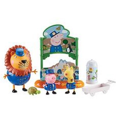 Peppa Pig At The Zoo Playset