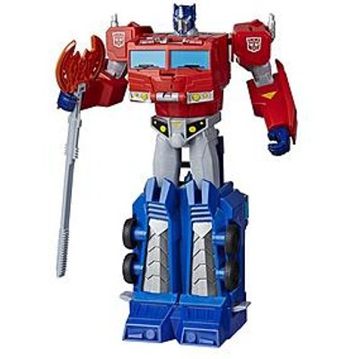 Transformers Cyberverse Ultimate Optimus Prime Figure
