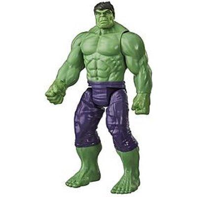 Marvel Avengers Titan Hero Series Blast Gear Deluxe Hulk Action Figure