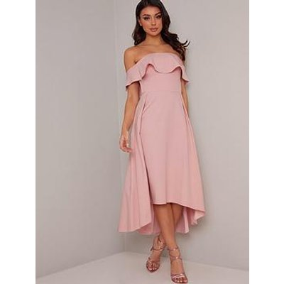 Chi Chi London Wanda Dress - Mink