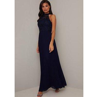 Chi Chi London Eulia Dress - Navy