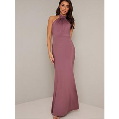 Chi Chi London Keely Dress - Pink