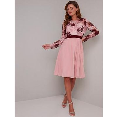 Chi Chi London Sutton Dress - Pink