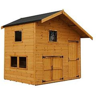 Mercia 8X6 Garage Double Story Playhouse