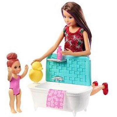 Barbie Babysitter Skipper- Bath Time Fun
