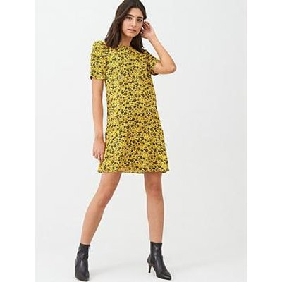 Whistles Trailing Daisy Georgina Dress - Yellow Multi