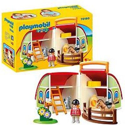 Playmobil 1.2.3 My Takealong Farm