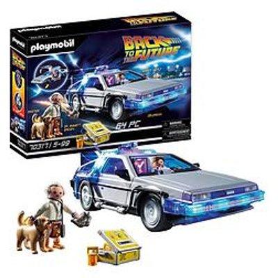 Playmobil 70317 Back To The Future&Copy; Delorean