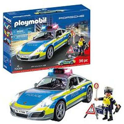 Playmobil Porsche 911 Carerra 4S Police