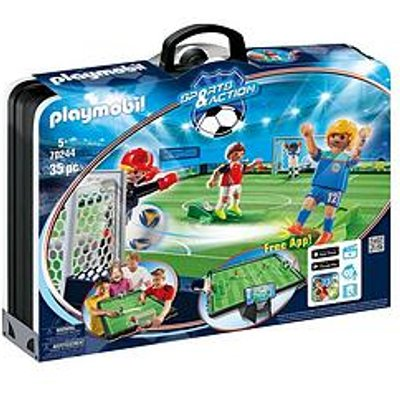 Playmobil Playmobil City Life Take Along Soccer Arena