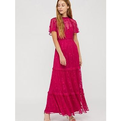 Monsoon Monsoon Billie Embroidered Recycled Maxi Dress