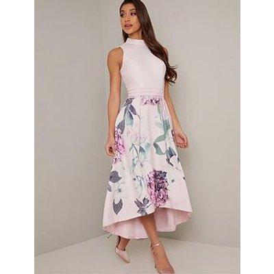 Chi Chi London Zoeigh Dress - Mink