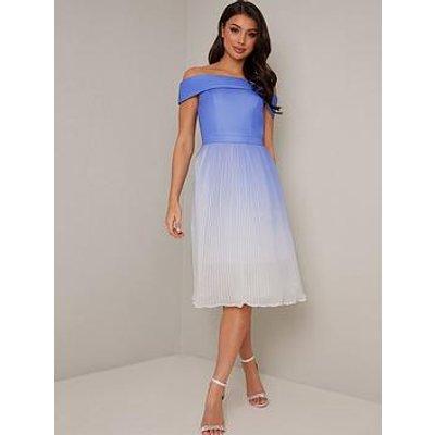 Chi Chi London Mireya Dress - Blue