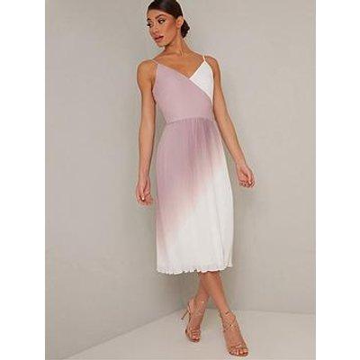 Chi Chi London Antolina Dress - Mink