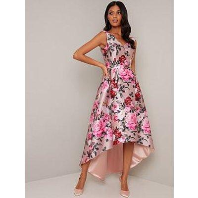 Chi Chi London Kaytlyn Dress - Mink