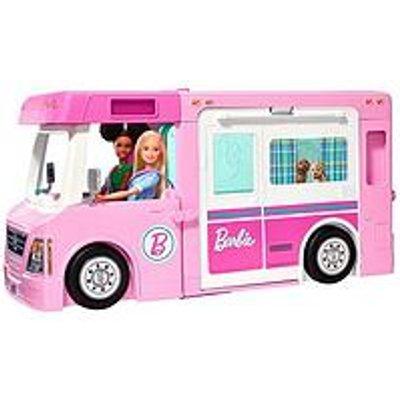 Barbie 3-In-1 Dreamcamper And Accessories