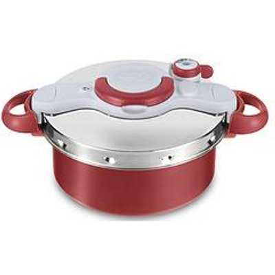 Tefal Clipso Minut Duo 5-Litre 2-In-1 Pressure Cooker &Amp; Stewpot