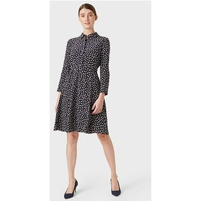 Hobbs Emberley Dress - Navy