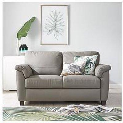 Arizona Leather 2 Seater Sofa
