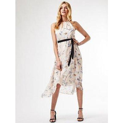 Dorothy Perkins Dorothy Perkins Luxe Mono Burnout Halter Midaxi Dress