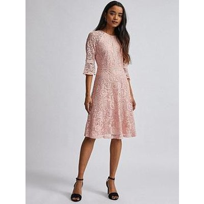 Dorothy Perkins Petite Blush Tilly Dress