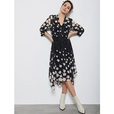 Mint Velvet Pandora Trapeze Midi Dress