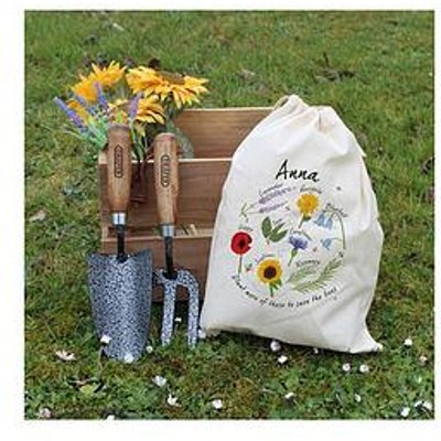 Signature Gifts Personalised Save The Bees Gardening Tool Set