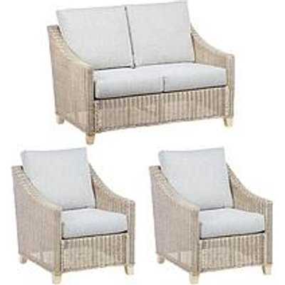 Desser Dijon Natural Conservatory Suite (Sofa &Amp; Two Chairs)