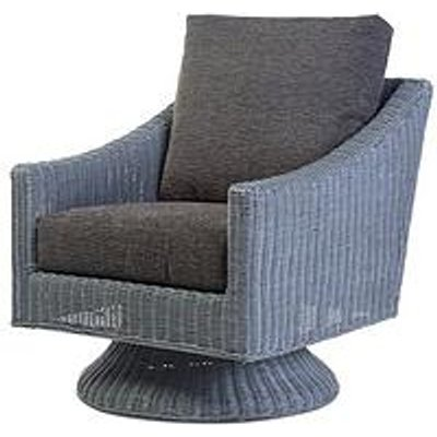 Desser Dijon Grey Wash Conservatory Swivel Chair