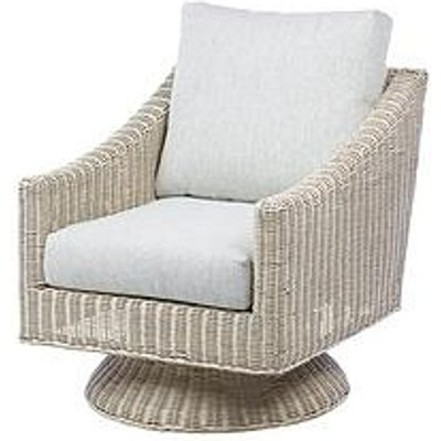 Desser Dijon Natural & Corsica Conservatory Swivel Chair