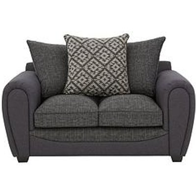 Harrison Compact Fabric 2 Seater Scatter Back Sofa