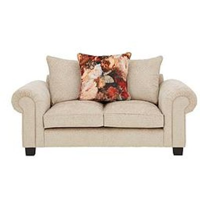 Belgravia Fabric 2 Seater Scatter Back Sofa