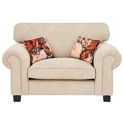 Belgravia Fabric Cuddle Chair