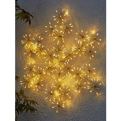 Snowflake Light Outdoor Christmas Decoration
