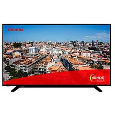 Toshiba Toshiba 58U2963Db, 58 Inch, 4K Ultra Hd, Hdr, Freeview Play, Smart Tv