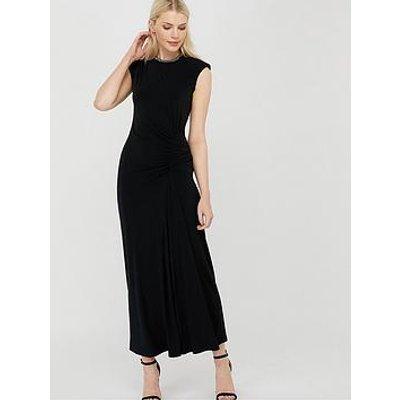 Monsoon Melissa Trim Maxi Dress - Black