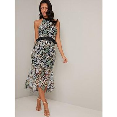 Chi Chi London Jaelana Dress - Black