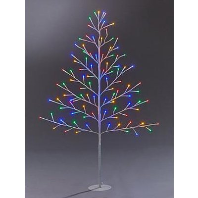 Festive 4Ft Flat White Indoor/Outdoor Christmas Tree