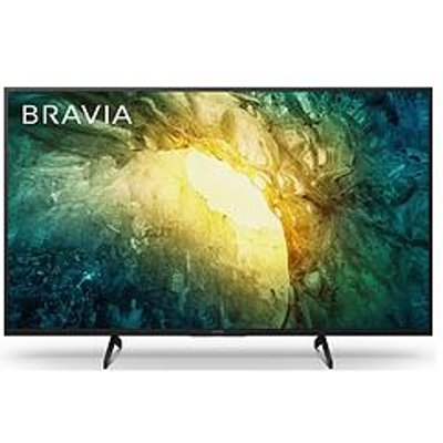 Sony Bravia Kd43X705, 43-Inch, 4K Hdr Ultra Hd Tv - Black