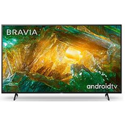 Sony Bravia Kd85Xh80, 85 Inch, 4K Hdr Ultra Hd, Android Smart Tv With Voice Remote - Black