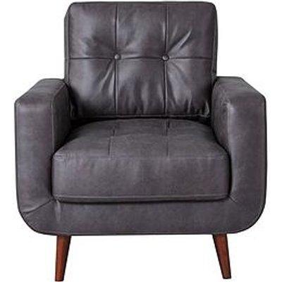 Skandi Faux Leather Chair