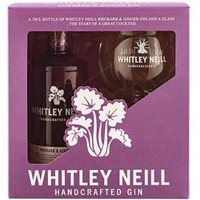 Whitley Neill Rhubarb &Amp; Ginger Gift Pack 70Cl