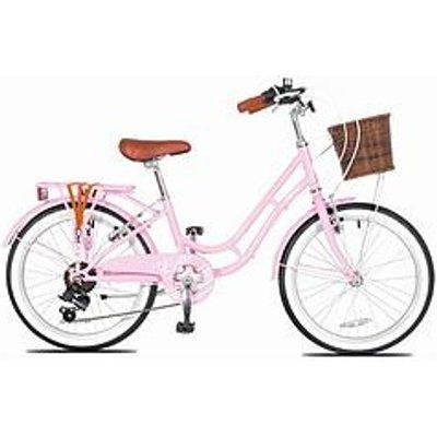 Concept Concept Belle Girls 9.5 Inch Frame 20 Inch Wheel Heritage Bike Pink