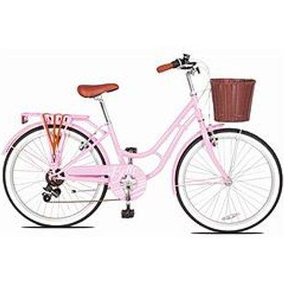 Concept Concept Belle Girls 13 Inch Frame 24 Inch Wheel Heritage Bike Pink