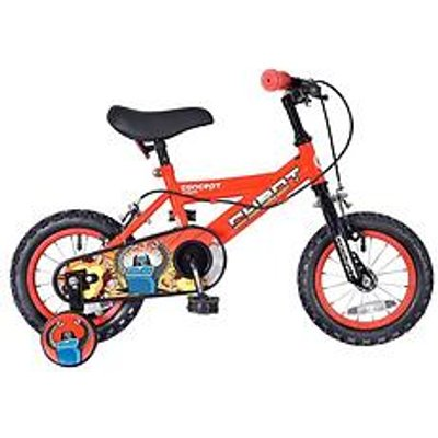 Concept Concept Cybot Boys 9 Inch Frame 16 Inch Wheel Bike Red