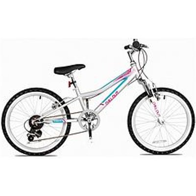Concept Concept Chillout Girls 9.5 Inch Frame 20 Inch Wheel Bike Silver