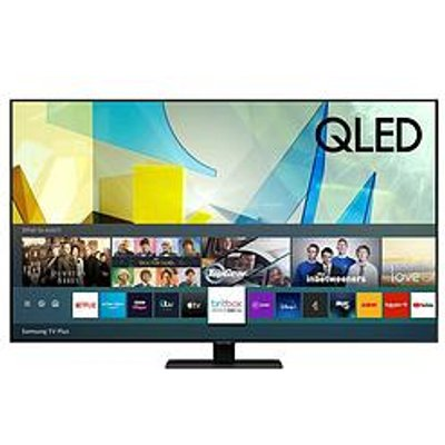 Samsung Qe65Q80T 65 Inch, Qled, 4K Ultra Hd, Quantam Processor, Object Tracking Sound, Hdr 1500, Smart Tv