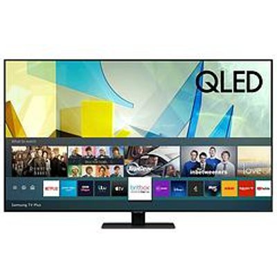 Samsung Qe55Q80T 55 Inch, Qled, 4K Ultra Hd, Quantam Processor, Object Tracking Sound, Hdr 1500, Smart Tv