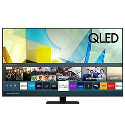 Samsung Qe85Q80T 85 Inch, Qled, 4K Ultra Hd, Quantam Processor, Object Tracking Sound, Hdr 1500, Smart Tv